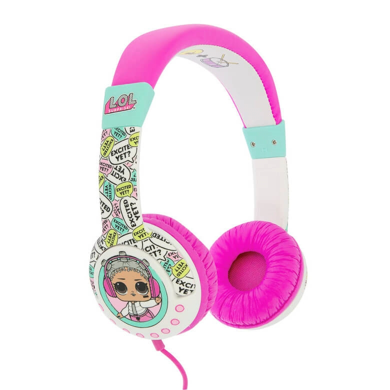 Hörlur Barn Junior LOL On-Ear 85dB Unicorn Peppa