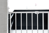 Hundgrind PET Gate Streamline metall BabyDan, 62,5-106,8 cm, vit